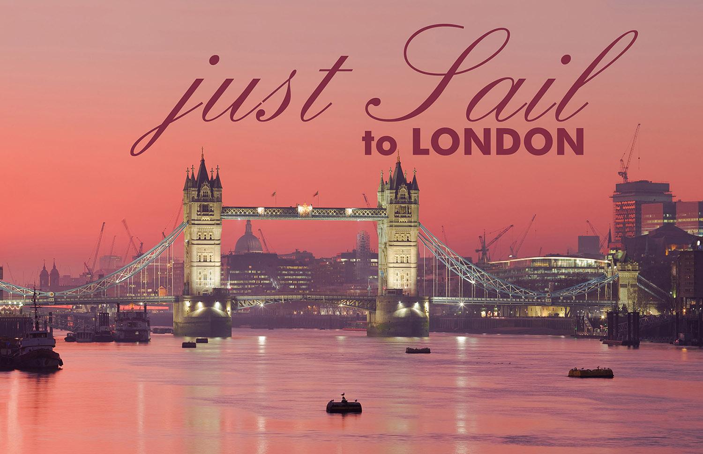 JUST SAIL to LONDON, vom 31.Jul. bis 07.Aug. 2020. London ist geil! Aber mit dem Boot die Themse hochzufahren und im Hafen - direkt neben der Tower Bridge - festzumachen, ist doppelt geil.